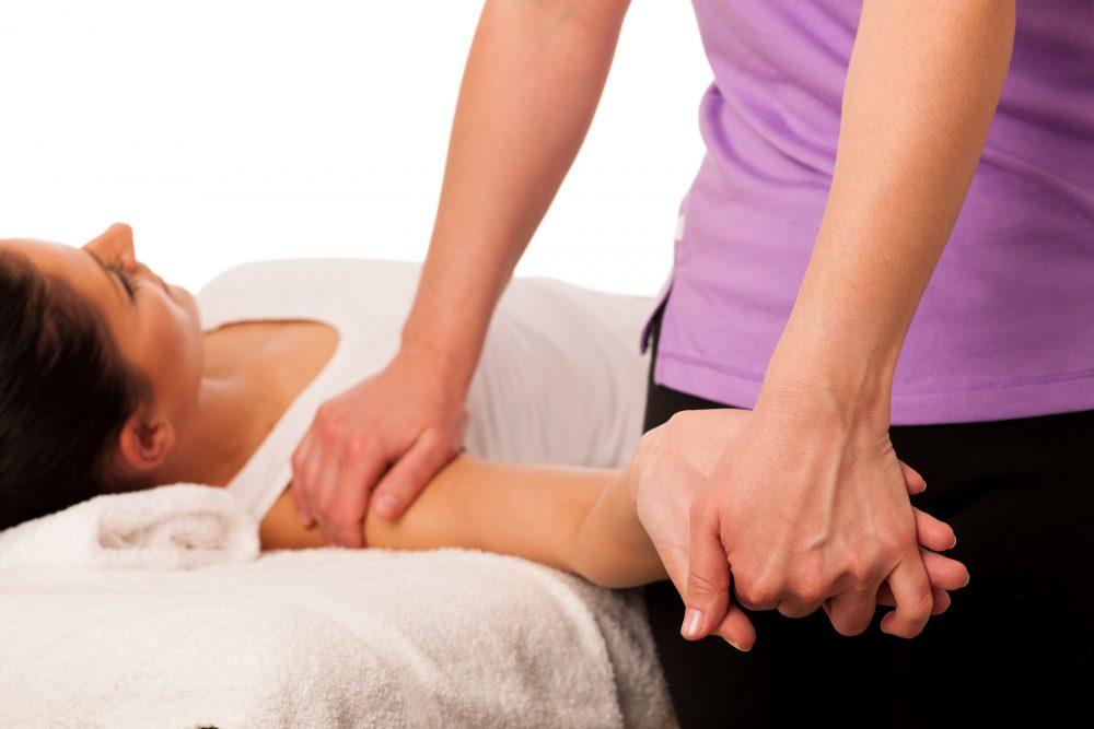chiropraticien, mobilisation du bras